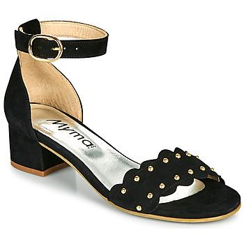 Shoes Women Sandals Myma POLIVAR Black