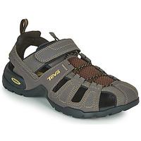Shoes Men Outdoor sandals Teva FOREBAY Brown