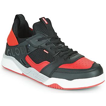Shoes Men Low top trainers Globe TILT EVO Black / Red