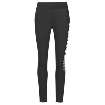Clothing Women Leggings Puma ESS+ GRAPHIC LEGGING Black