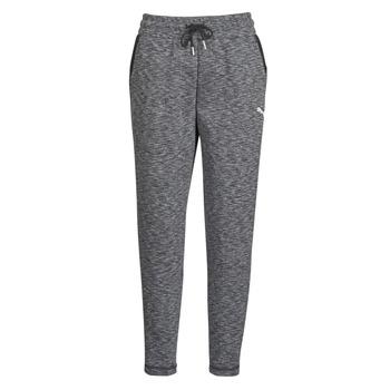 Clothing Women Tracksuit bottoms Puma Evostripe Pants Grey / Black