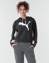 Clothing Women Sweaters Puma Modern Sports Hoodie Black