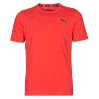 Clothing Men Short-sleeved t-shirts Puma ESS TEE Red