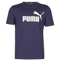 Clothing Men Short-sleeved t-shirts Puma ESSENTIAL TEE Marine