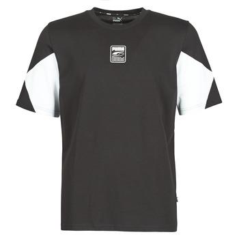 Clothing Men Short-sleeved t-shirts Puma REBEL ADVANCED TEE Black