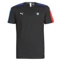 Clothing Men Short-sleeved t-shirts Puma BMW MMS T7 Tee Black