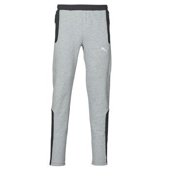 Clothing Men Tracksuit bottoms Puma Evostripe Pant Grey / Black