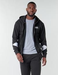 Clothing Men Sweaters Puma REBEL FZ HOOD Black
