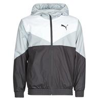 Clothing Men Macs Puma ESS+ CB Windbreaker Black / White / Grey