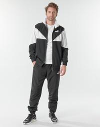 Clothing Men Tracksuits Puma Woven Suit CL Black / White