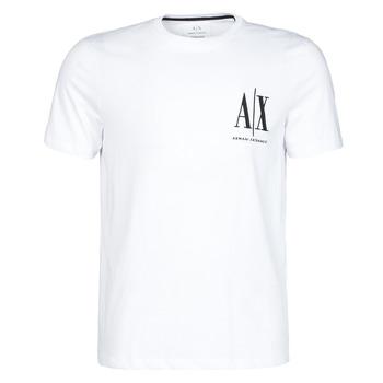 Clothing Men Short-sleeved t-shirts Armani Exchange 8NZTPH-ZJH4Z White