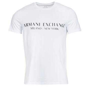 Clothing Men Short-sleeved t-shirts Armani Exchange 8NZT72-Z8H4Z White