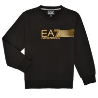 Clothing Boy Sweaters Emporio Armani EA7 3KBM55-BJ05Z-1200 Black