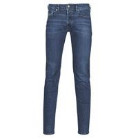 Clothing Men Skinny jeans Diesel SLEENKER Blue / Dark