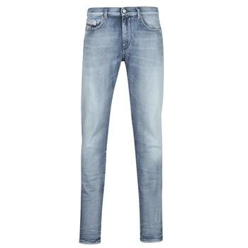 Clothing Men Slim jeans Diesel D-STRUKT Blue / Clear
