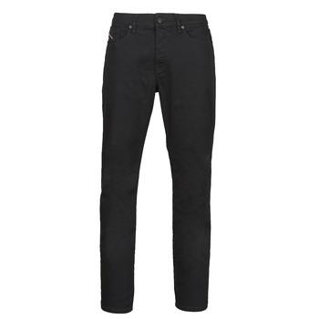 Clothing Men Straight jeans Diesel D-FINNING Black