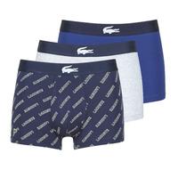 Underwear Men Boxer shorts Lacoste GHAFFO Marine / White / Grey