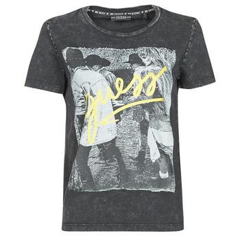 Clothing Women Short-sleeved t-shirts Guess SS CN PAULA TEE Black