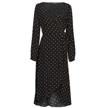 Clothing Women Long Dresses Guess NEW BAJA DRESS Black