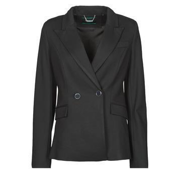 Clothing Women Jackets / Blazers Guess MICAELA BLAZER Black
