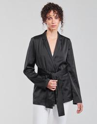 Clothing Women Jackets / Blazers Guess DIMITRA BLAZER Black