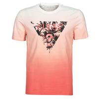 Clothing Men Short-sleeved t-shirts Guess PALM BEACH CN SS TEE Red