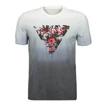 Clothing Men Short-sleeved t-shirts Guess PALM BEACH CN SS TEE Black