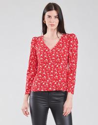 Clothing Women Tops / Blouses Naf Naf COLINE C1 Red