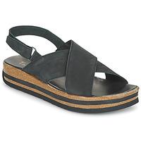 Shoes Women Sandals Think ZEGA Black