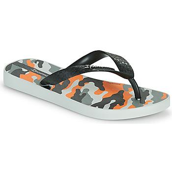 Shoes Children Flip flops Ipanema IPANEMA CLASSIC IX KIDS Grey / Black / Orange