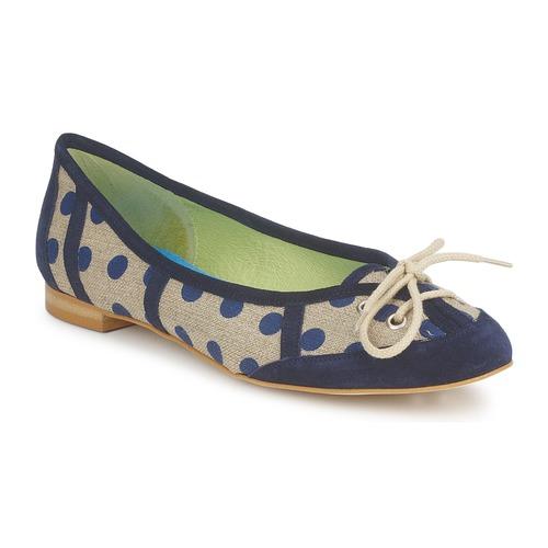 Shoes Women Flat shoes Stephane Gontard KASTOR Marine
