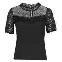 Clothing Women Short-sleeved t-shirts Morgan DANY Black