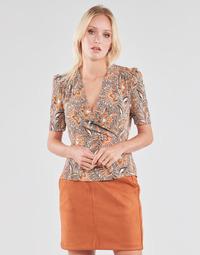 Clothing Women Tops / Blouses Morgan OKISS Multicolour