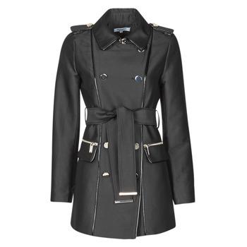 Clothing Women Trench coats Morgan GAZELLE Black