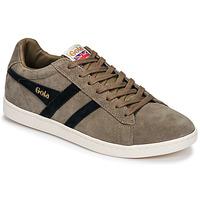 Shoes Men Low top trainers Gola EQUIPE SUEDE Beige / Marine