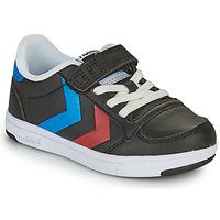 Shoes Children Low top trainers Hummel STADIL LIGHT QUICK JR Black