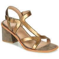 Shoes Women Sandals Karston PSOK Kaki / Bronze