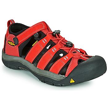 Shoes Children Outdoor sandals Keen NEWPORT H2 Red