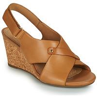 Shoes Women Sandals Clarks MARGEE EVE Beige