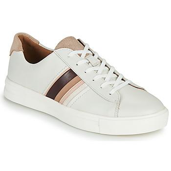 Shoes Women Low top trainers Clarks UN MAUI BAND White