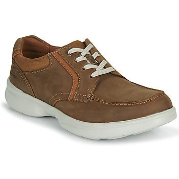 Shoes Men Derby Shoes Clarks BRADLEY VIBE Beige