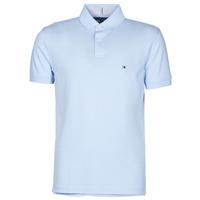 Clothing Men Short-sleeved polo shirts Tommy Hilfiger 1986 REGULAR POLO Blue / Sky