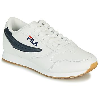 Shoes Men Low top trainers Fila ORBIT LOW White / Blue