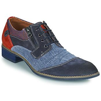 Shoes Men Derby Shoes Kdopa MONTMARTRE Blue / Red