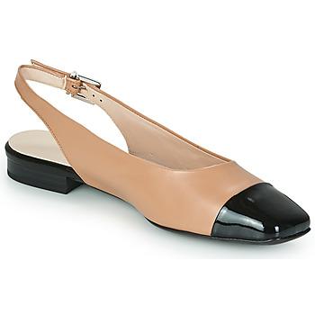 Shoes Women Flat shoes Peter Kaiser KILLEEN Nude / Black