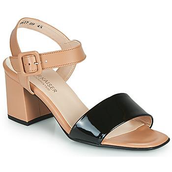 Shoes Women Sandals Peter Kaiser PEORIA Nude / Black