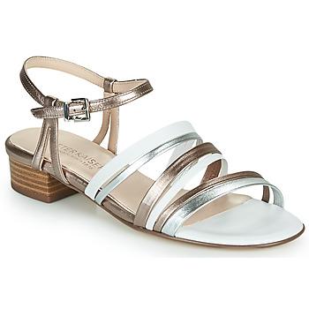 Shoes Women Sandals Peter Kaiser PATIA Bronze / White