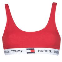 Underwear Women Sports bras Tommy Hilfiger BRALETTE Red