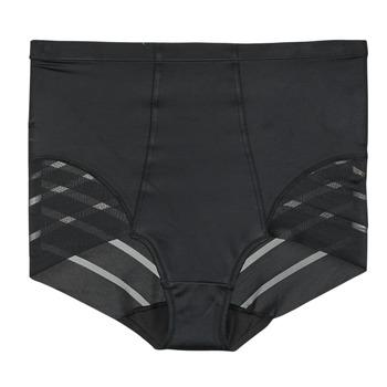 Underwear Women Knickers/panties DIM DIAM'S CONTROL CULOTTE HAUTE Black