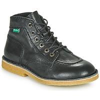 Shoes Boy Mid boots Kickers KICK LEGEND Black